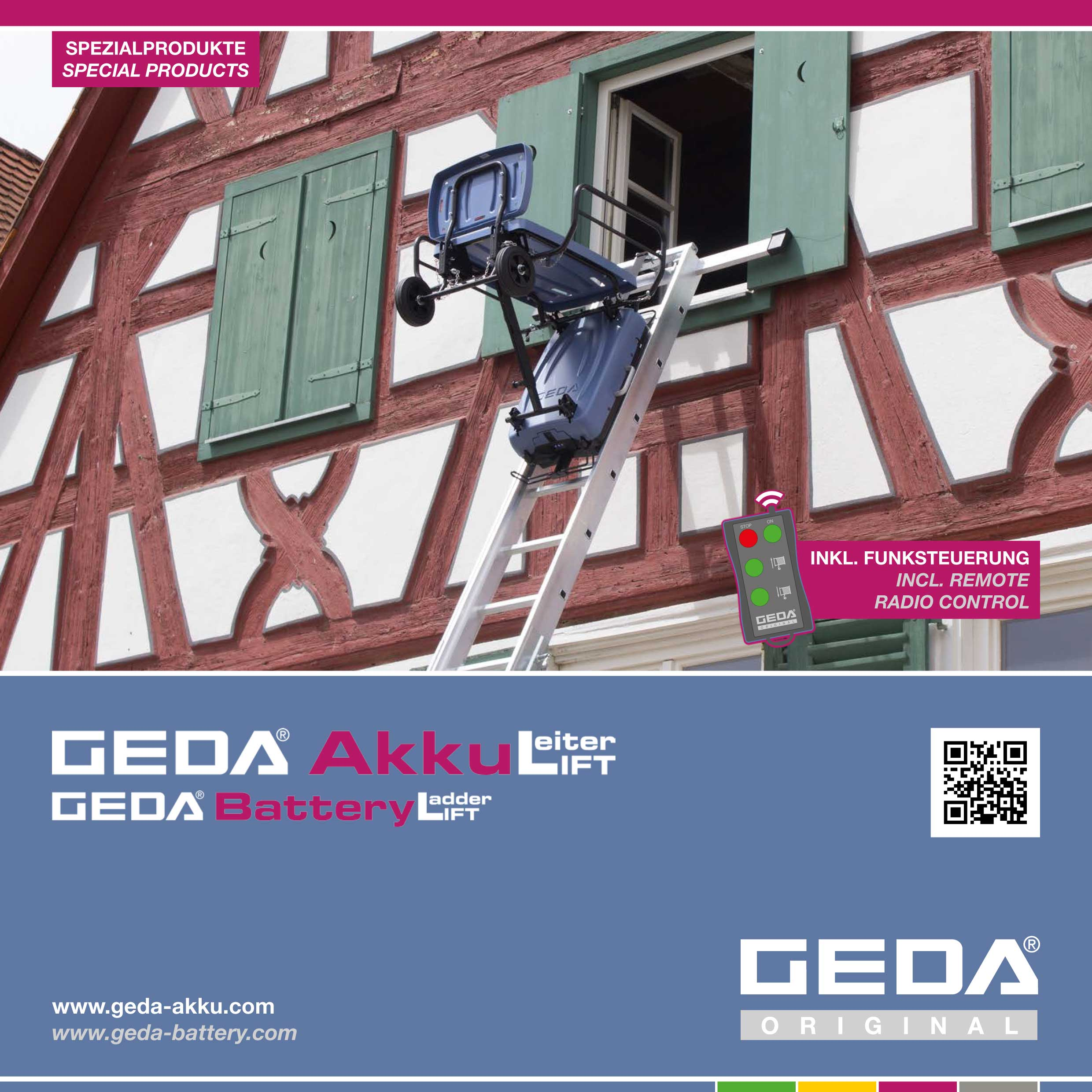 Geda BatteryLadderLIFT Brochure